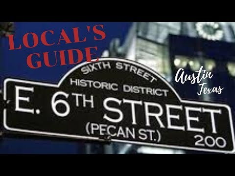 2020 AUSTIN TEXAS NIGHTLIFE: LOCAL'S GUIDE TO SIXTH STREET  | Vlog #25 | NaTravels