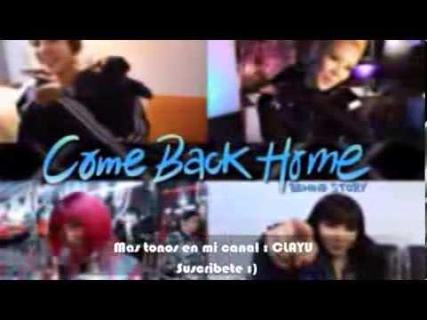 2NE1 - COME BACK HOME - RINGTONE