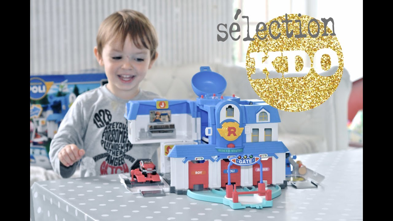 quartier g n ral robocar poli test jouet 2015 youtube. Black Bedroom Furniture Sets. Home Design Ideas