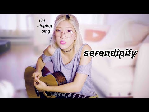 BTS Serendipity Cover (Ballad Acoustic) - w/Chords & Songsheet (my first cover ever omg)