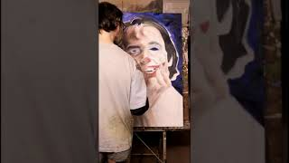 Joker Art Portrait Time-lapse