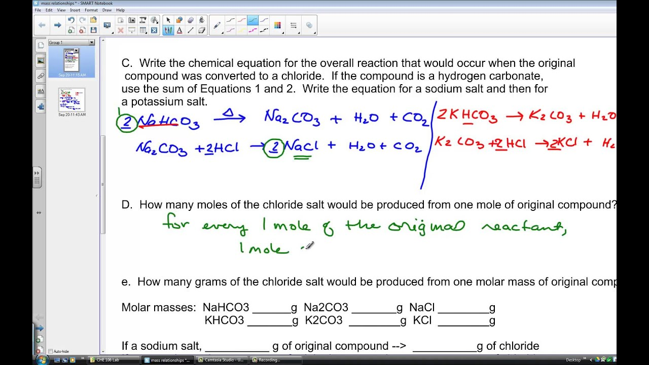 Experiment  Identification Of A Compound Chemical Properties