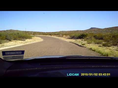 LTM ranch drive to Terlingua Ranch Road