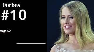 Рейтинг 50 звезд шоу бизнеса и спорта