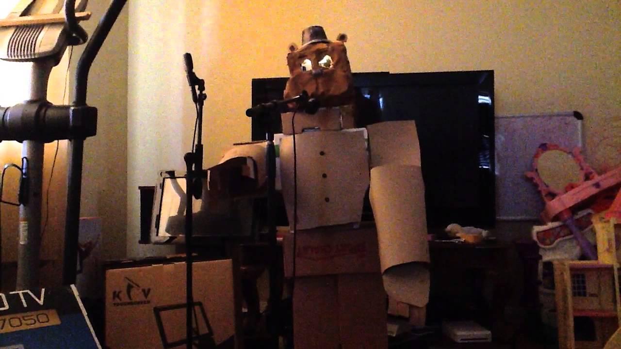 Cardboard Freddy Fazbear