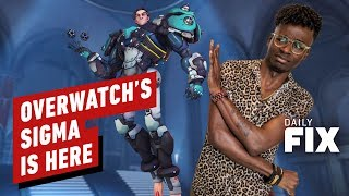 Overwatch's New Tank Sigma Doesn't Wear Shoes - IGN Daily Fix