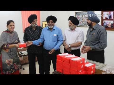 Labour Day Celebrations in Guru Nanak Public School Rajouri Garden New Delhi 2018