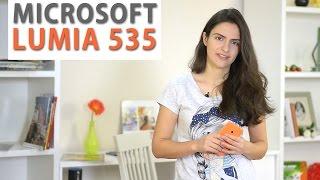 Microsoft Lumia 535: обзор смартфона(Цена и наличие: http://rozetka.com.ua/microsoft_rm_1090_lumia_535_ds_cv_eac_ua_br_orange/p1793273/ Видеообзор смартфона Microsoft Lumia 535 ..., 2015-02-07T08:00:02.000Z)