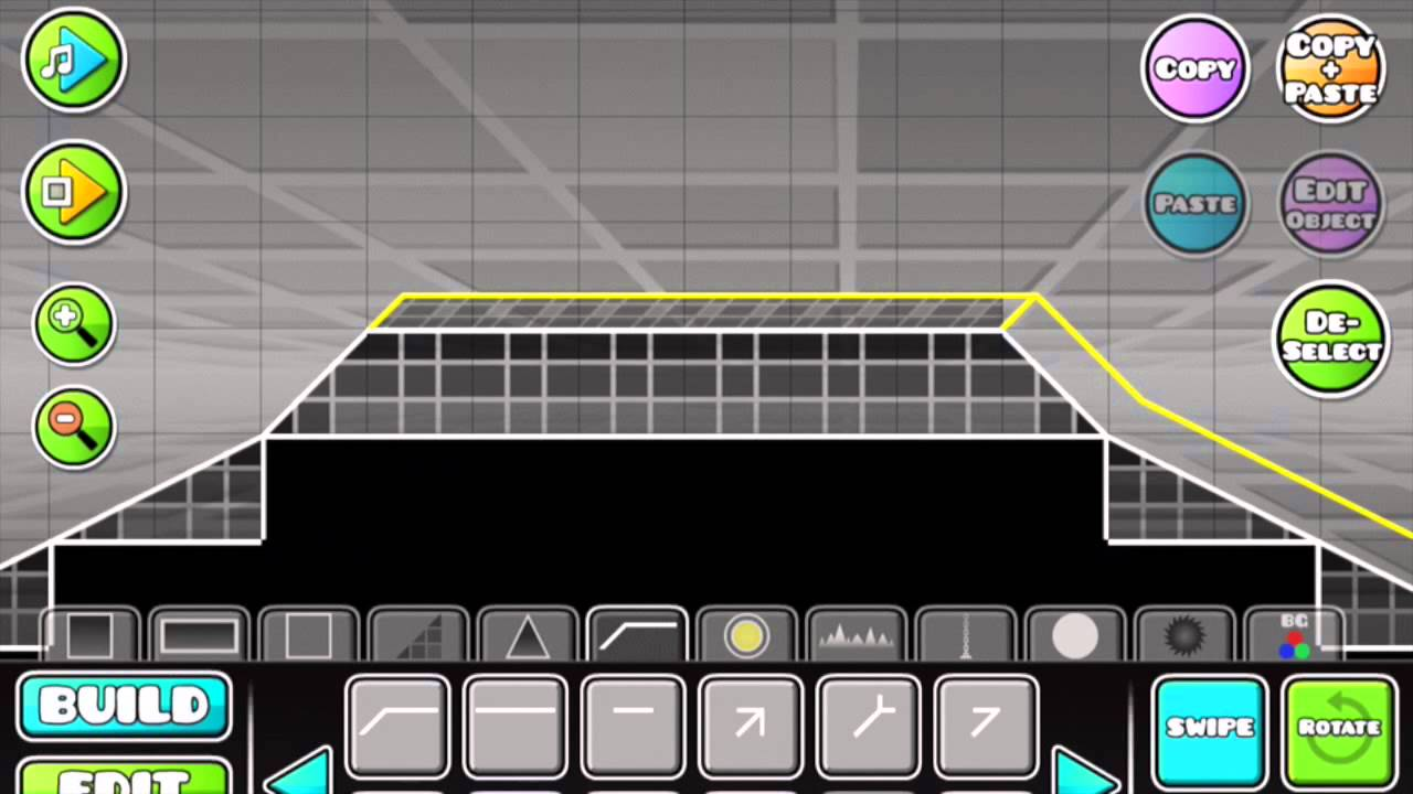 how to use keys in geometry dash level editor