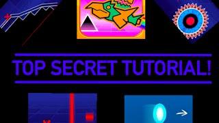 geometry dash level editor secrets tutorial 3 d slopes teleportation more