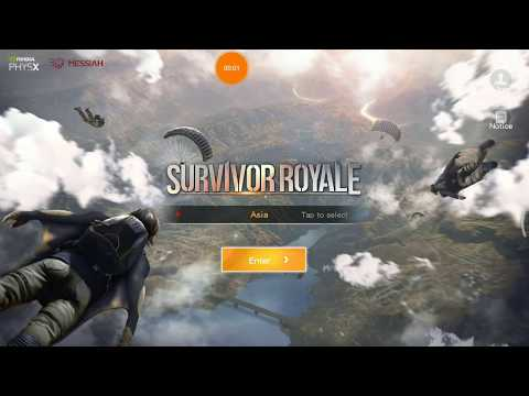 Survivor Royale gameplay Test On Mi6