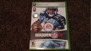 Madden NFL 08 For Xbox 360 Unboxing! You Ready For Madden NFL 13!? Madden NFL 13 Pre-Order Info!