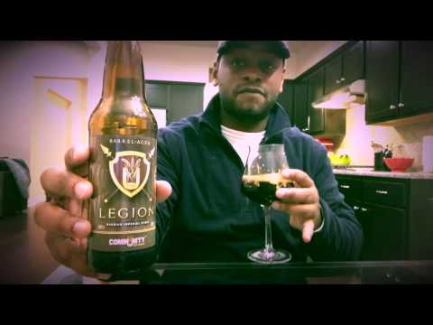 Beer Reviews: Barrel Aged Legion by Community Beer Co