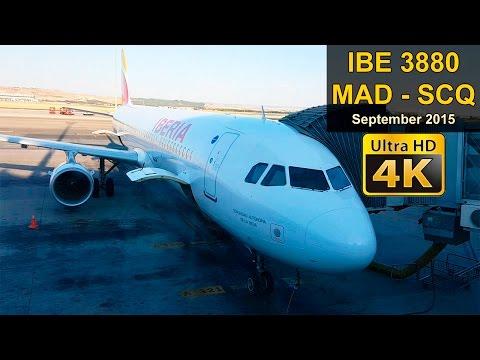 FLIGHT EXPERIENCE | Madrid - Santiago | IBERIA EXPRESS A320