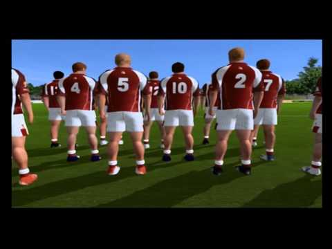 GAA football PS2 gameplay