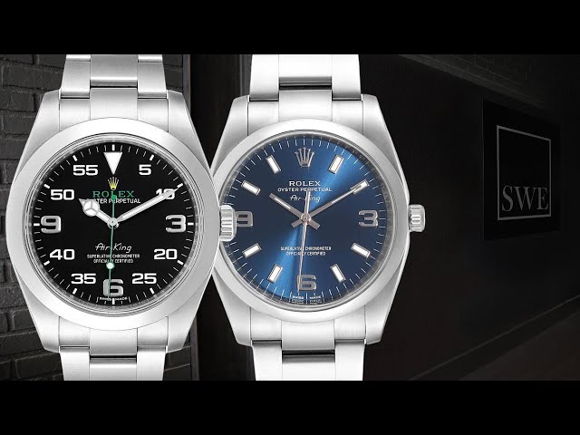 Showcase Review - Rolex Air-King Watches, Vintage to Modern | SwissWatchExpo [1 Minute Watch Review]