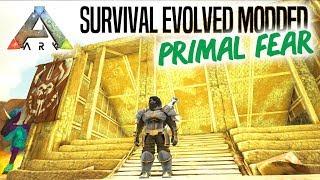 BASEN BEGYNDER - ARK Survival Evolved Ep 6 Primal Fear Mod Scorched Earth