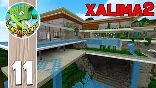 Minecraft Lets Build Xalima 2 #11 (Modern Concept House)