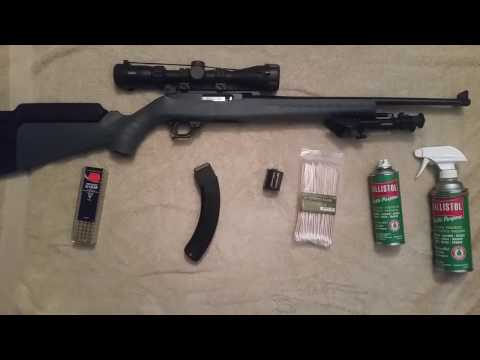 ruger bx 25 magazine disassembly and cleaning