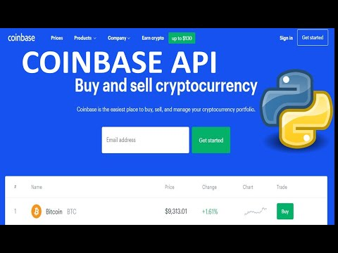 buy and sell cryptocurrency api