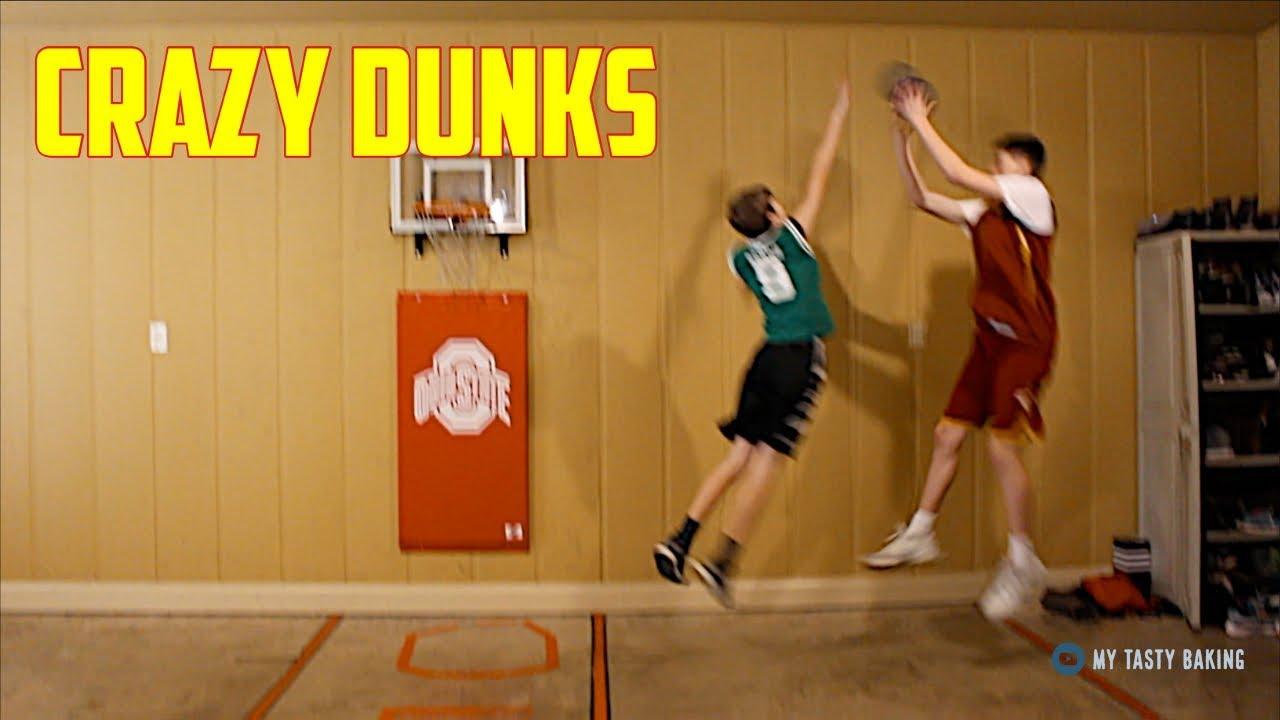 INSANE MINI BASKETBALL GAME*CRAZY DUNKS* | NEA Blitzball