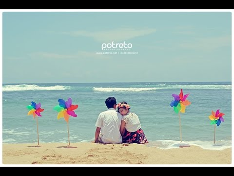 Foto Prewedding Casual Vintage Di Pantai Youtube