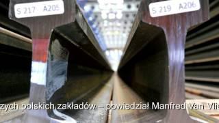 Uroczyste uruchomienie instalacji do produkcji długiej szyny  w ArcelorMittal Poland