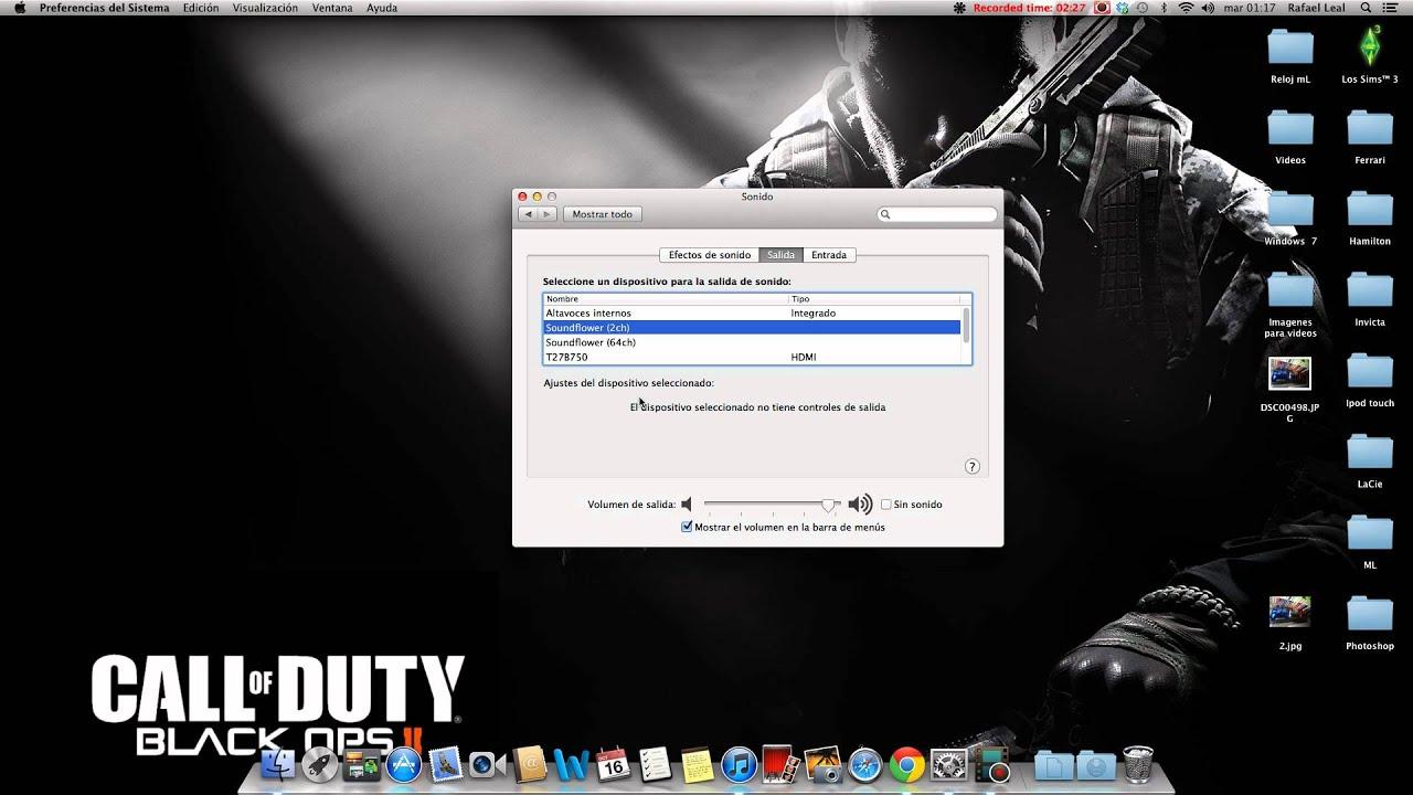 Grabar Pantalla En Mac Con Audio Interno En El Quicktime Design Desktop Screenshot