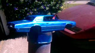 Quick paint job 69 t-bird video