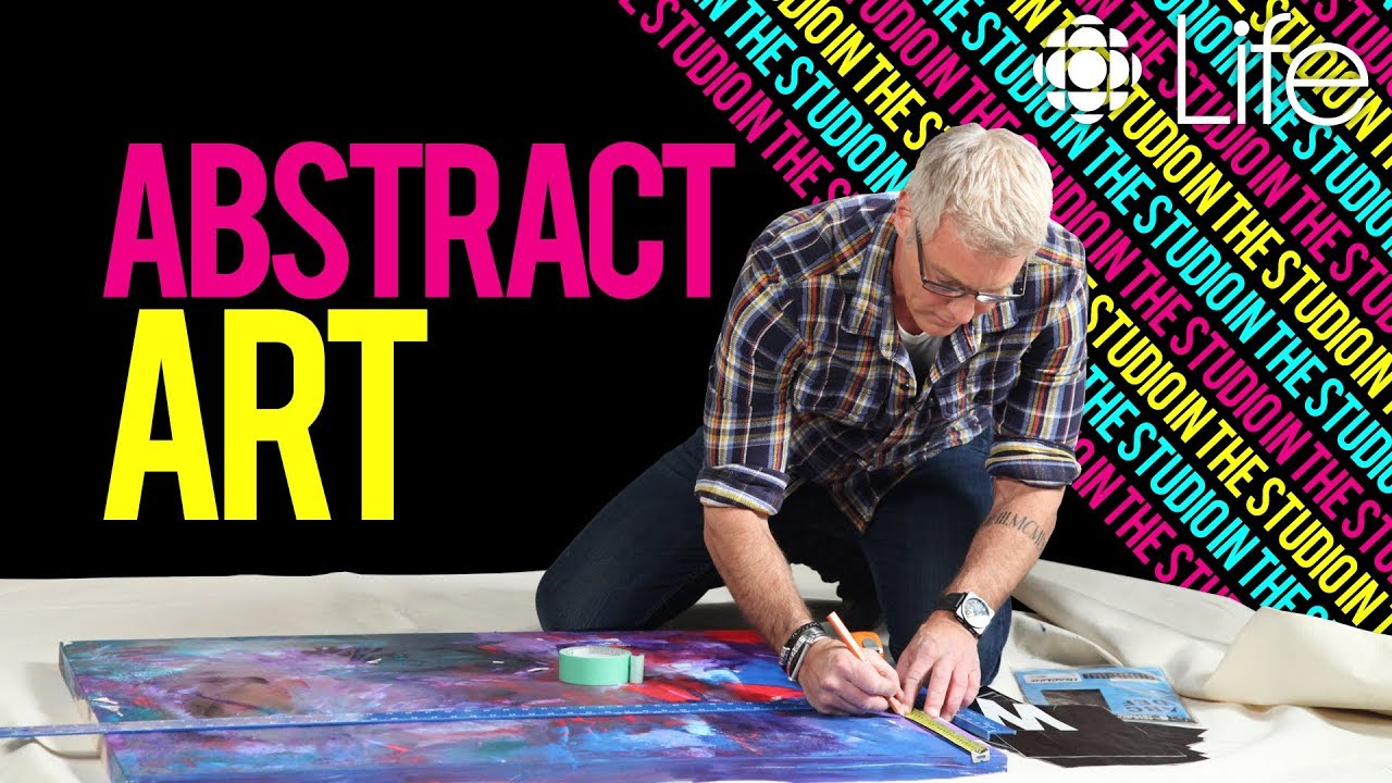 How to Create Abstract Art   In the Studio with Steven Sabados   CBC Life