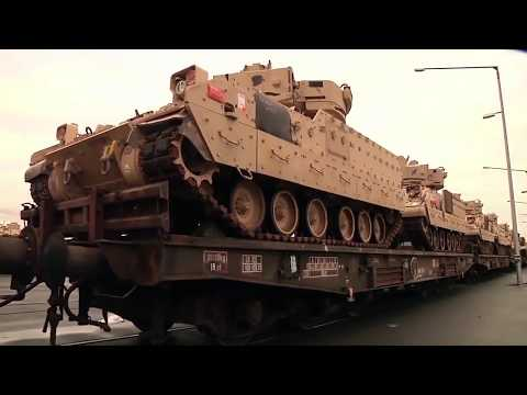BREAKING NEWS U.S. Army prepares  Massive Equipment Move Into Europe- Against world war 3, 2017