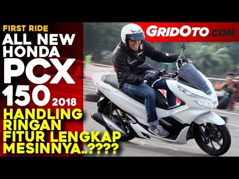 Honda PCX 150 2018 | First Ride Review l GridOto