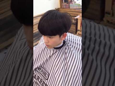 Tóc Nam Đẹp : Uấn 2 mái buông lơi kiểu Hàn Quốc