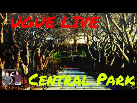 Live from Central Park, Take a tour with UGUE, G TEAM PARANORMAL AND THE HOLYWALKER;S