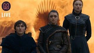 """Game of Thrones Staffel 8 Folge 6 """"Der Eiserne Thron""""   Moviepilot Live"""