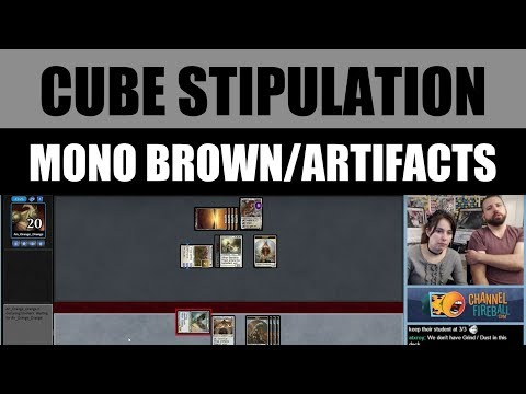 Vintage Cube Stipulation Draft - Mono Brown featuring LSV / Magic: The Gathering