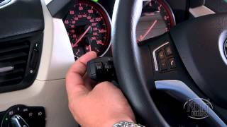 BMW X1 Turn Indicator Stalk