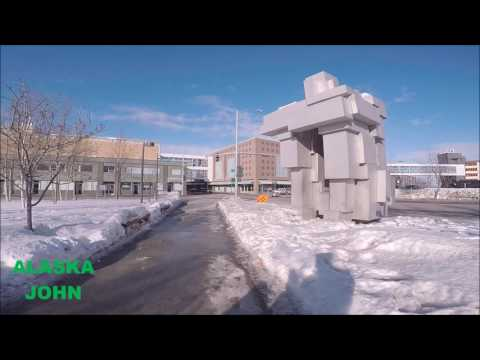 ANCHORAGE ALASKA DOWNTOWN - Shopping Mall/Museum
