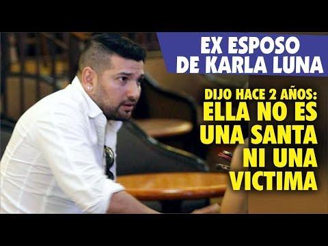 Americo Garza Ex Esposo De Karla Luna Y Las Serias Acusaciones Contra Ella