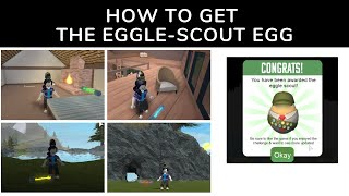 How to Get the Eggle-Scout Egg - Roblox Egg Hunt 2019