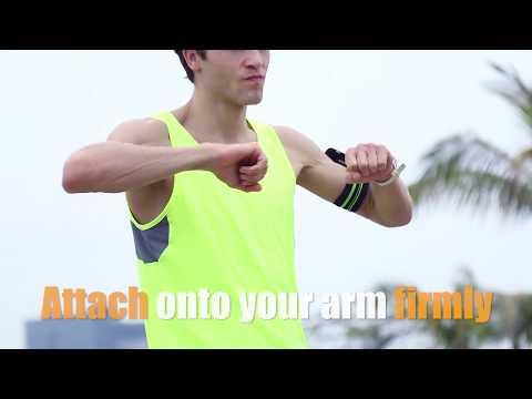 Lock&Go magnet slot multifunctional sports armband.