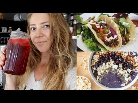 WHAT I ATE TODAY / EASY VEGAN MEALS FOR WEIGHT LOSS & HEALTH