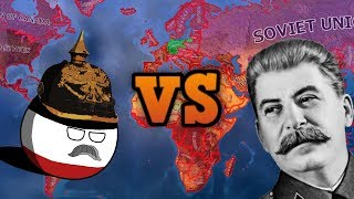 GERMANY VS THE WORLD - Hearts Of Iron 4 Largest War