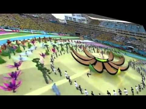 Video Pembukaan Piala Dunia  Di Brazil