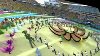 Video Pembukaan Piala Dunia 2014 di Brazil