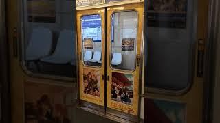 京阪電車 700形(ちはやふる)ドア開閉№1(石山坂本線 南滋賀)