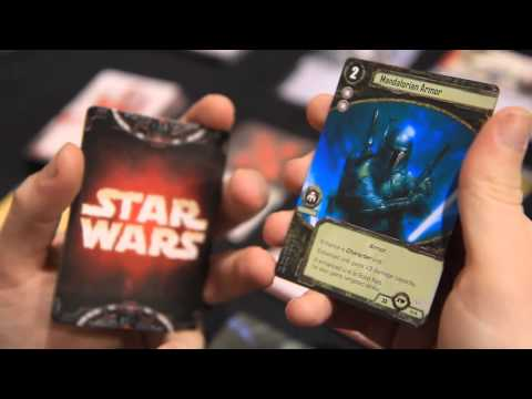 FFG Worlds 2012 - Star Wars LCG - Unboxing Part Two