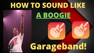 A BOOGIE WIT A HOODIE vocal EFFECT GarageBand IOS