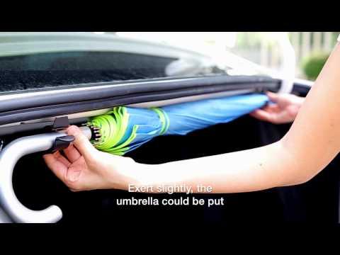 UMBRELLA HOOK - HP3517 Hypersonic best sell multi-functional car hook car organizer