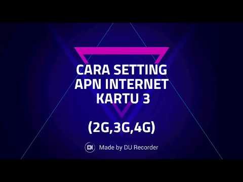 TERBARU!!! 4 CARA SETTING APN INTERNET NGEEBUT KARTU 3 (2G,3G,4G) 2017
